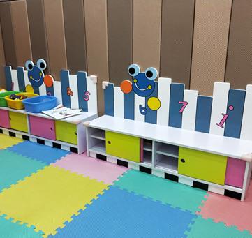 儿童娱乐游戏区
